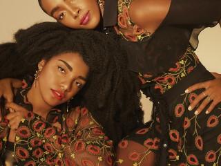 V Magazine x The Quann Sisters